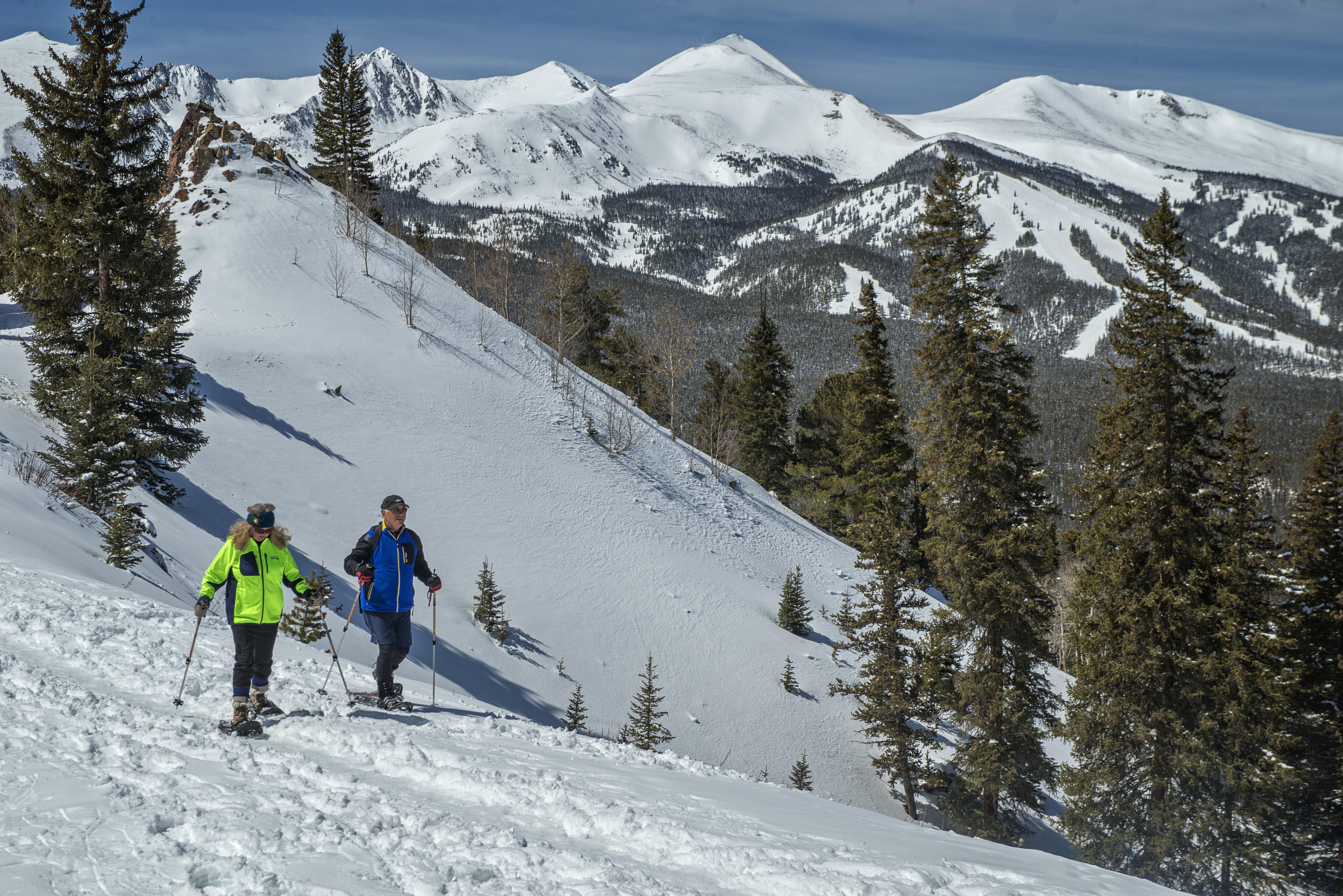 Snowshoeing in Breckenridge Colorado