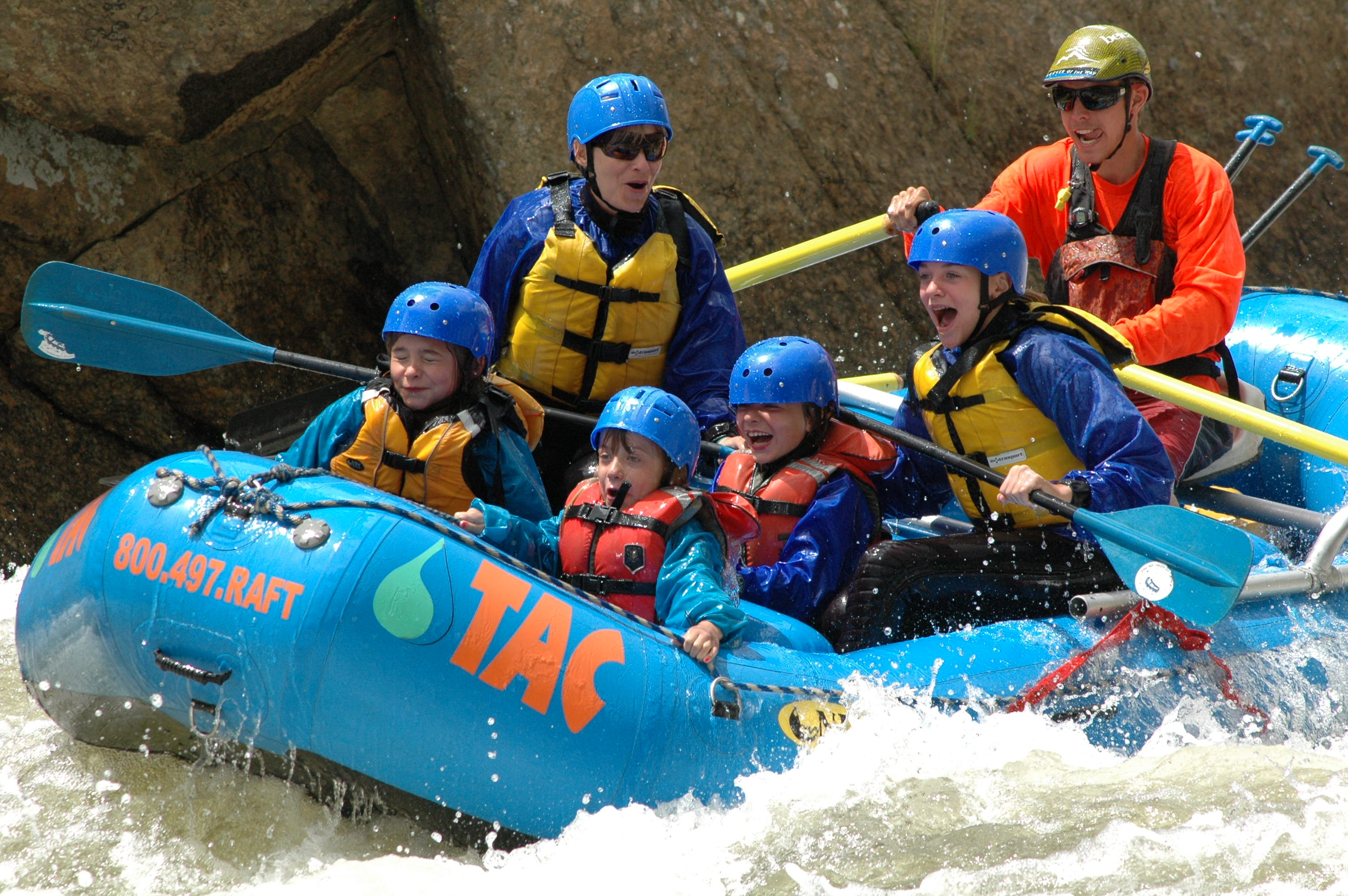 Summer Family Rafting